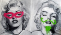 marilyn graffiti